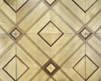Patterned parquet floor. Stock Photo