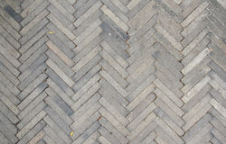 Patterned Paving Tiles, Cement Brick Floor Stock Images