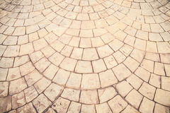 Patterned paving tiles Stock Image