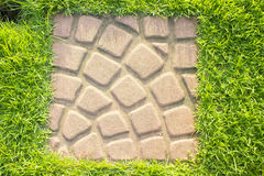 Patterned paving tiles, Royalty Free Stock Image