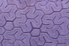 Patterned paving tiles, cement brick floor background Stock Photos
