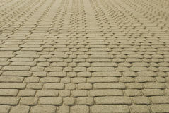 Patterned paving tiles Royalty Free Stock Photo