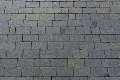 Patterned paving Royalty Free Stock Photo
