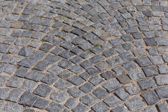 Patterned paving tiles Royalty Free Stock Images