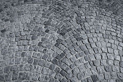 Patterned paving tiles Stock Images