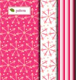 Patterned pink sphere Royalty Free Stock Photos
