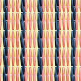 Patterned plastic old mat for blackground Stock Image
