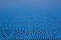 Patterned plastic to prevent slip and fall. Royalty Free Stock Photo