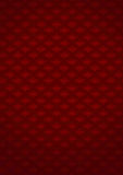 Patterned red background Stock Photos