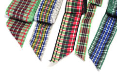 Patterned ribbons Royalty Free Stock Photos