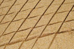 Patterned sand Royalty Free Stock Photo