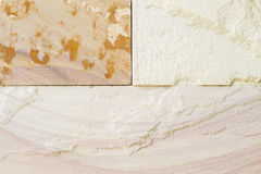 Patterned sandstone texture background. Natural color Royalty Free Stock Images
