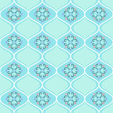 Patterned seamless texture. On a green background Royalty Free Stock Photography