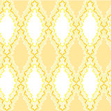 Patterned seamless texture. On a    yellow  background Stock Photo