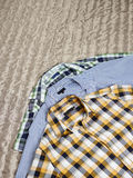 Patterned shirts Royalty Free Stock Images