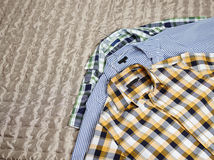 Patterned shirts Stock Photo
