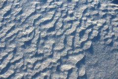 Patterned Snow royalty free stock photography
