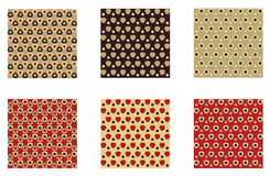 Patterned tiles Stock Images