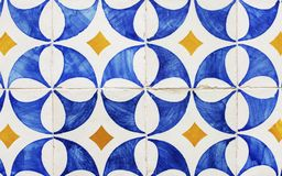 Patterned tiles in Lisbon Stock Photo