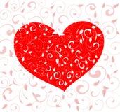 Patterned valentine Royalty Free Stock Photo