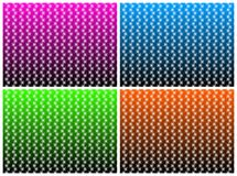 Patterned wallpapers Royalty Free Stock Photos