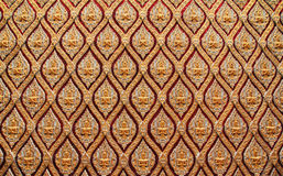 Patterned walls of the cathedral Stock Image