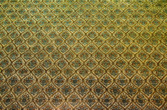 Patterned walls of the church. Royalty Free Stock Image