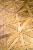 Patterned wooden floor Stock Photography