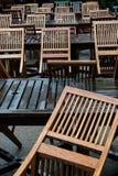 Patternofstoelen stock afbeelding