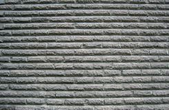 Patterns. An abstract of a brick wall in grey tones stock photo