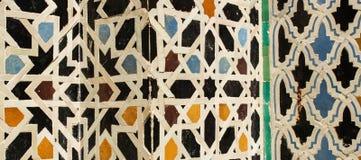 Patterns. The beauty of Arabic mosaic art royalty free stock image