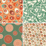 Patterns in bio style Stock Photography