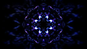 Patterns of blue light