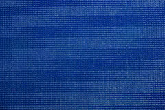 Patterns of blue plastic Stock Photography