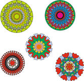 Patterns. circles. Patterns of circles for something royalty free illustration