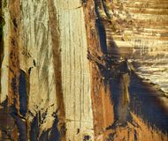 Patterns in the cliff wall. In Escalante Utah Stock Photos