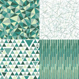 Patterns collection Royalty Free Stock Image