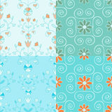 Patterns colllection Stock Photos
