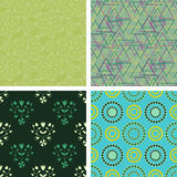 Patterns colllection Royalty Free Stock Photos