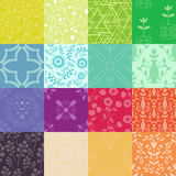 Patterns Colllection Stock Photo