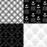Patterns colllection Royalty Free Stock Photography