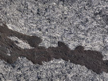 Patterns cracks and shapes of black solidified lava stock images
