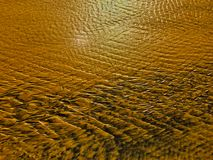 Sand pattern as background stock photos