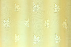 Patterns on the curtains Stock Photography