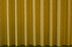 Patterns on the curtains. Royalty Free Stock Images