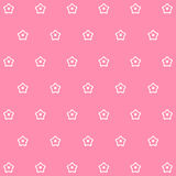 Patterns with Cute Flowers Background set great for any use. Vector EPS10. Stock Images