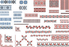 Patterns for Embroidery Stitch Stock Photos
