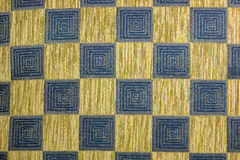 Patterns of fabric Stock Image