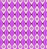 Patterns geometric diamond purple Royalty Free Stock Image