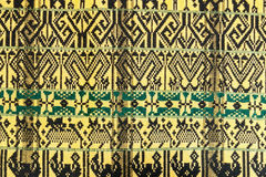 Patterns on  Hand woven Stock Photo